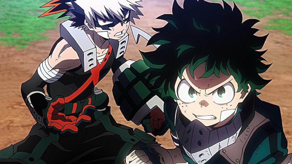 My Hero Academia Heroes Rising Netflix