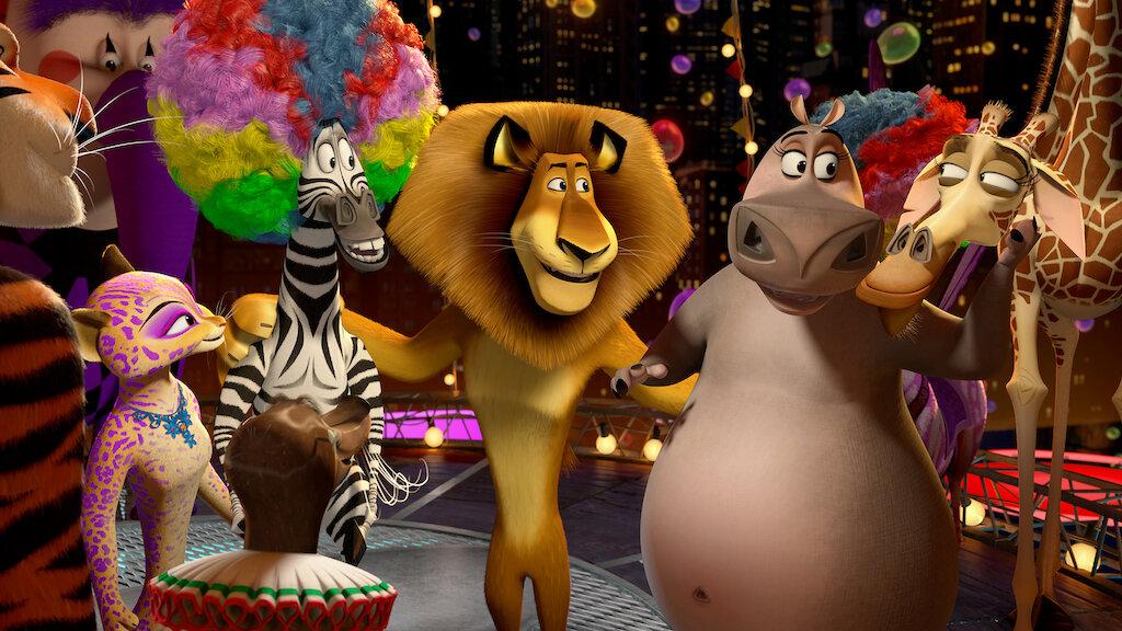 Madagascar 3 Los Fugitivos Netflix