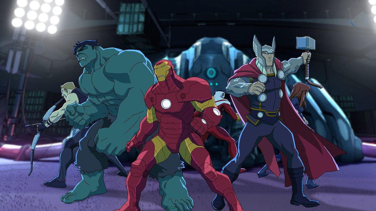 Marvel Los Vengadores La Revolución De Ultrón Netflix